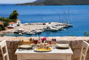 Luxury Yacht Charter Greece Food