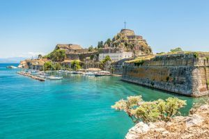castle to see on yacht charter in corfu