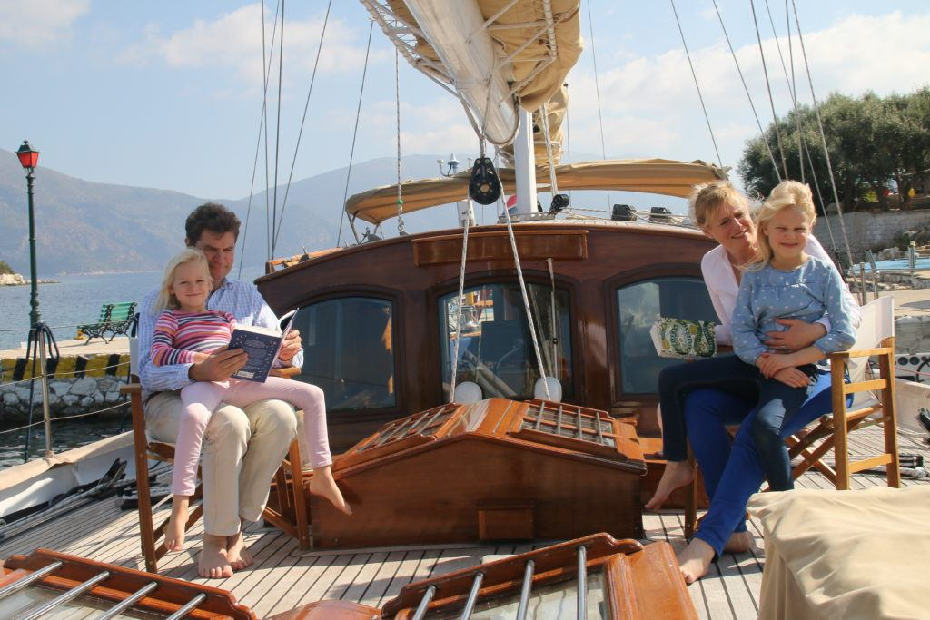 Family sailing adventure Windweaver Yacht Charter